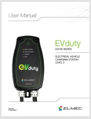 EVduty User Manual (EVC30)