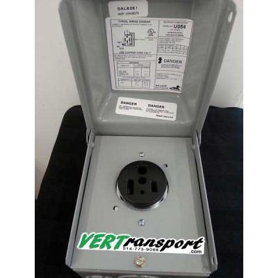 NEMA 6-50R Power Outlet